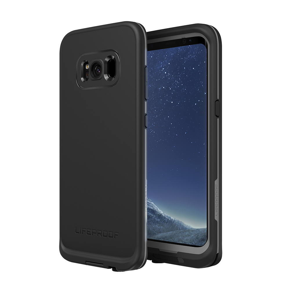 Lifeproof Fre For Galaxy S8 Case - Asphalt Black
