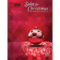 The Professional Pianist -- Solos for Christmas (Paperback)