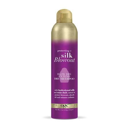 OGX® Protecting + Silk Blowout, Blow Dry Extend Dry Shampoo 5 FL OZ](Rocks Blow Dry Bar)