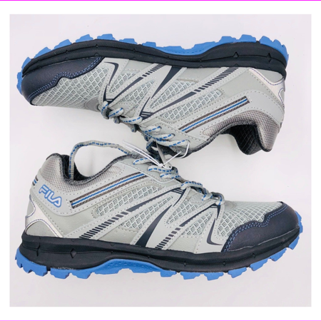 Fila NORTHAMPTON Trail Sneakers Womens Shoes 6.5/Grey/Light