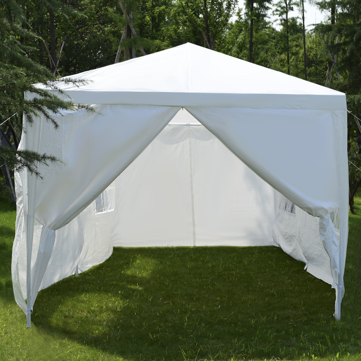 Wedding Tent Canopy Party 10'x20' Heavy Duty Gazebo Cater Event W/ Side Walls - image 8 of 10