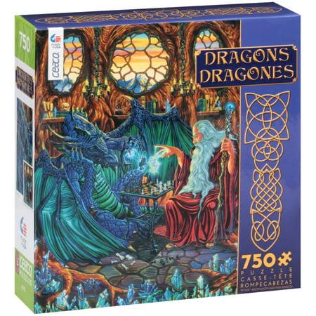 Ceaco® Dragons Puzzle 750 pc Box