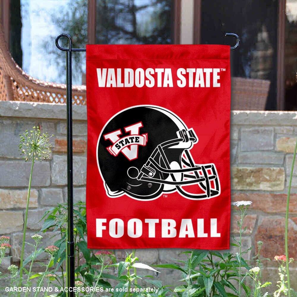 College Flags and Banners Co Valdosta State Blazers Banner with Hanging Pole