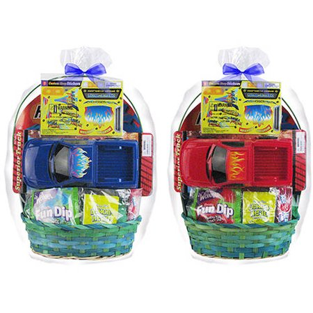 Toy truck easter basket walmart toy truck easter basket negle Choice Image
