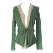 Lunn Women's Dilemme Front Tie Cardigan 1 (S) Menthe