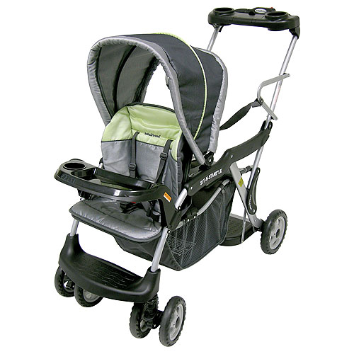 Baby Trend - Sit N Stand Stroller with Parent Tray, Galaxy
