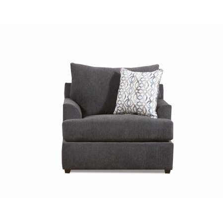 Lane Home Furnishings  Surge Charcoal Chair 1/4 Lane Home Furnishings  Surge Charcoal Chair 1/4