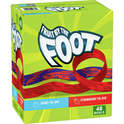 Betty Crocker Fruit by the Foot, Gluten Free Variety Pack, 48 ct