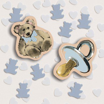 Sweet Prince Baby Shower Confetti - Baby Shower Confetti