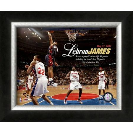 LeBron James Framed Photographic Print Wall Art  -