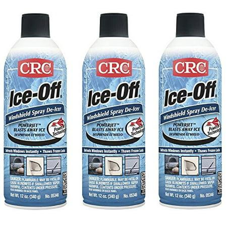 CRC 05346 Ice-Off Windshield Spray De-Icer - 12 Wt Oz.