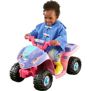 Fisher-Price Power Wheels Dora and Friends Lil' Quad 6-Volt Battery-Powered Ride-On