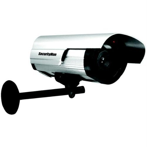 SecurityMan SM-3802 Dummy Indoor/Outdoor Camera with LED