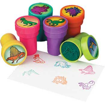 Dinosaur Stamper (6-pack) - Party Supplies