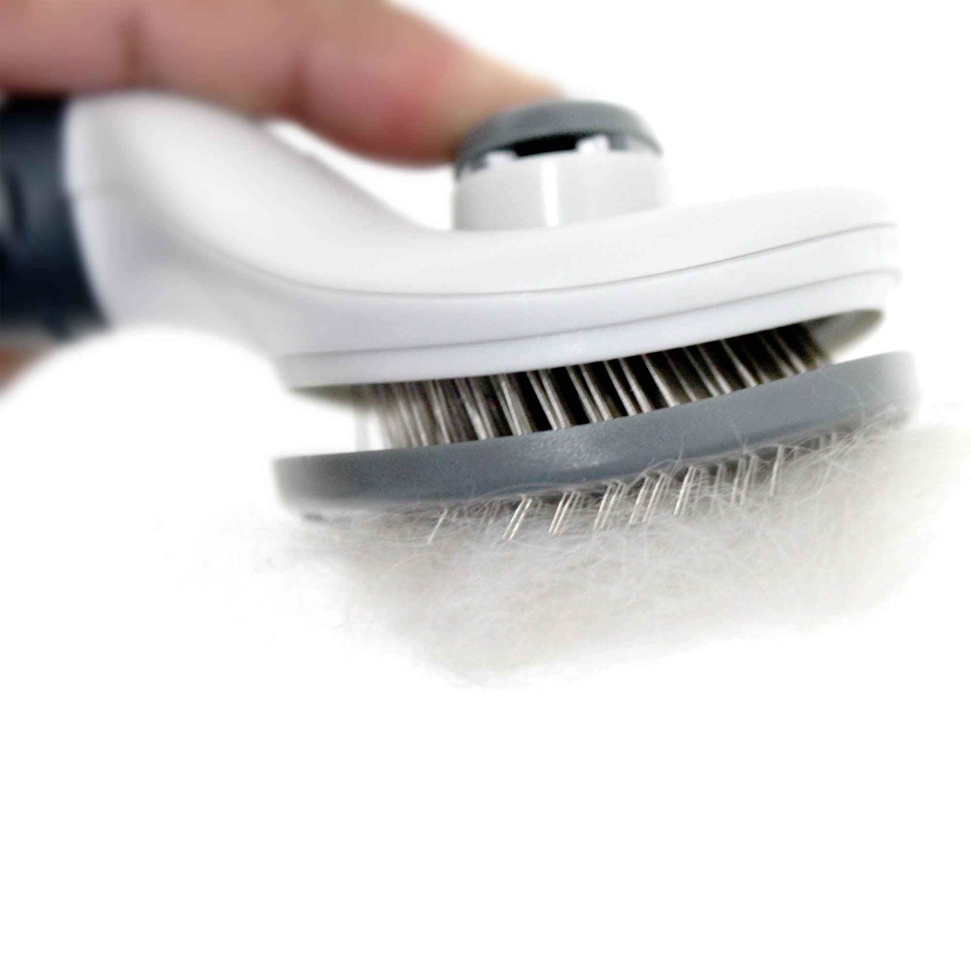 Spetacular Dog Self-Cleaning Slicker Brush, Large - Walmart.com