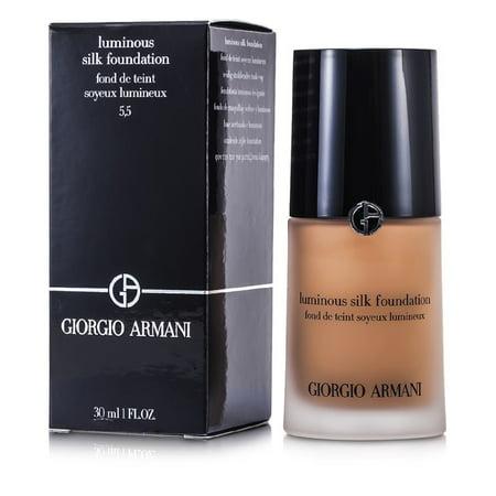 Giorgio Armani - Luminous Silk Foundation - # 5.5 (Natural Beige)
