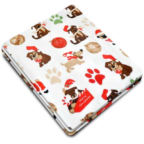 "Holiday Time Microplush 50"" x 60"" Throw, 1 Each"