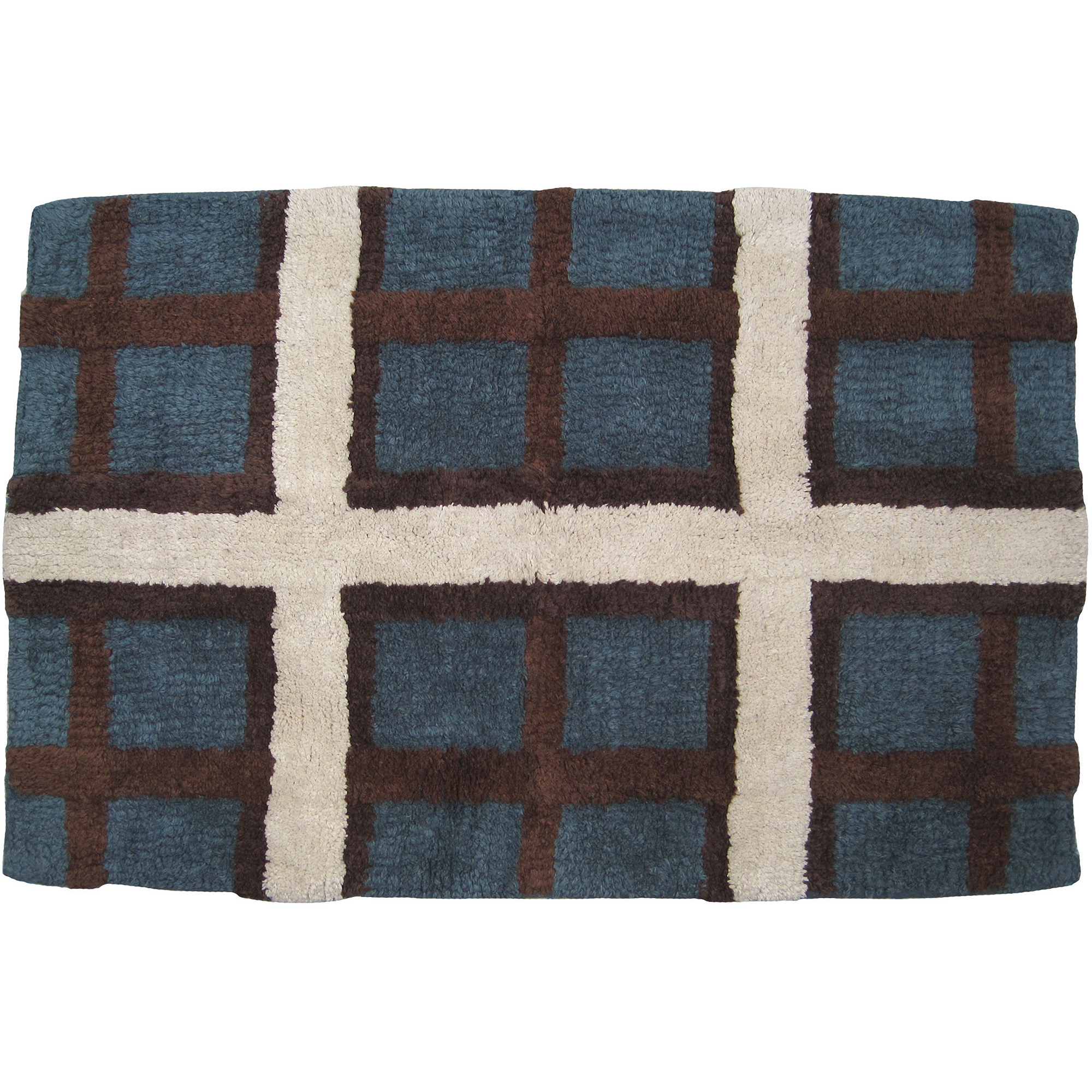 Mainstays Plaid Lodge Bath Rug by WAL-MART STORES INC