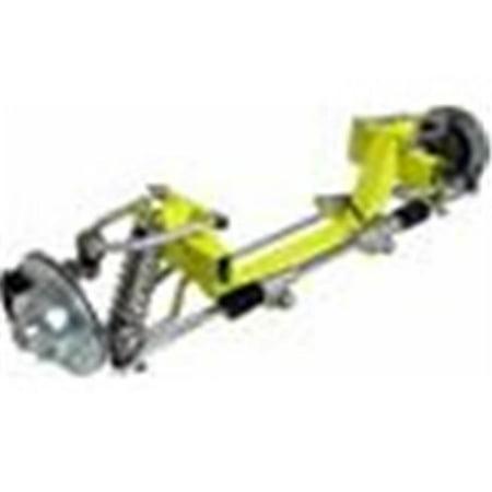 Helix Suspension Brakes and Steering HEXIFSCMMCYC01PLDB 49-51 Mercury Car CornerKiller IFS Coil Over 2 in. Drop 6 x 5.5 Power LHD Rack