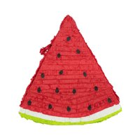 Watermelon Slice Pinata Red 17.5in x 18.5in