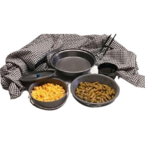 Tex Sport Mess Kit, Black Ice H. A. The Pathfinder