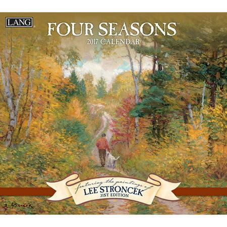 Lang 2017 Wall Calendar  Four Seasons