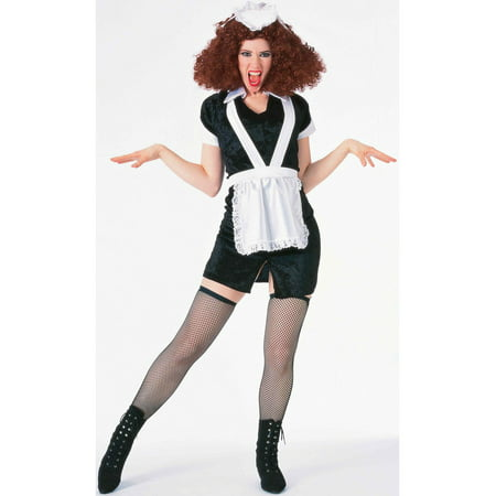 Magenta Rocky Horror Picture Show Adult Costume - Smiley Costume Horror