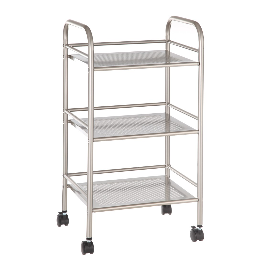 Mainstays Rolling Cart in Satin Nickel Finish - CAI0169G