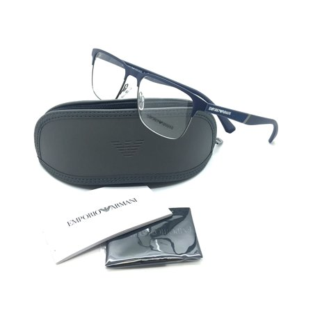 862739be352 Emporio Armani New Authentic Blue Men Eyeglasses EA 1061 3174 53 17 145 -  Walmart.com