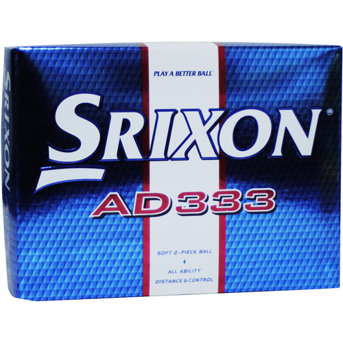 Srixon AD333 Golf Ball, 1 dozen