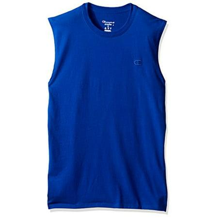 10d04ecff0cd Champion - Champion Men's Classic Jersey Muscle T-Shirt - Walmart.com