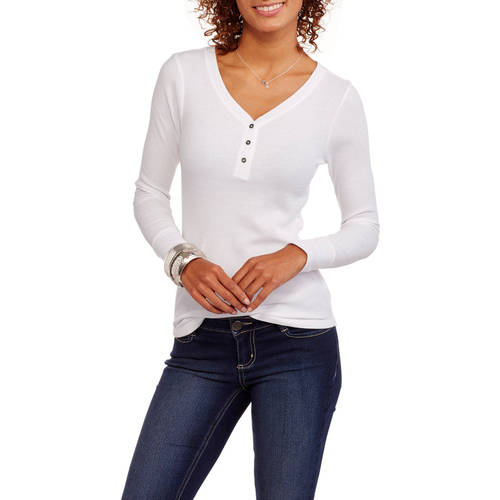 Faded Glory Women's Thermal Henley
