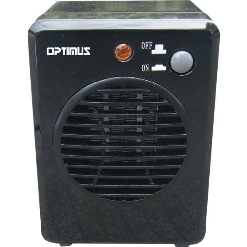 Optimus Portable Mini Ceramic Heater, H-7800 by Optimus