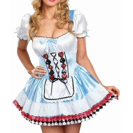 Dreamgirl Women's Beyond Wonderland Costume](Bu Halloween)