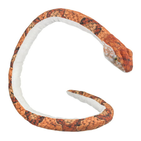 Realistic Copperhead Snake Plush Stuffed Animal Lifelike Scare Prank Toy 52