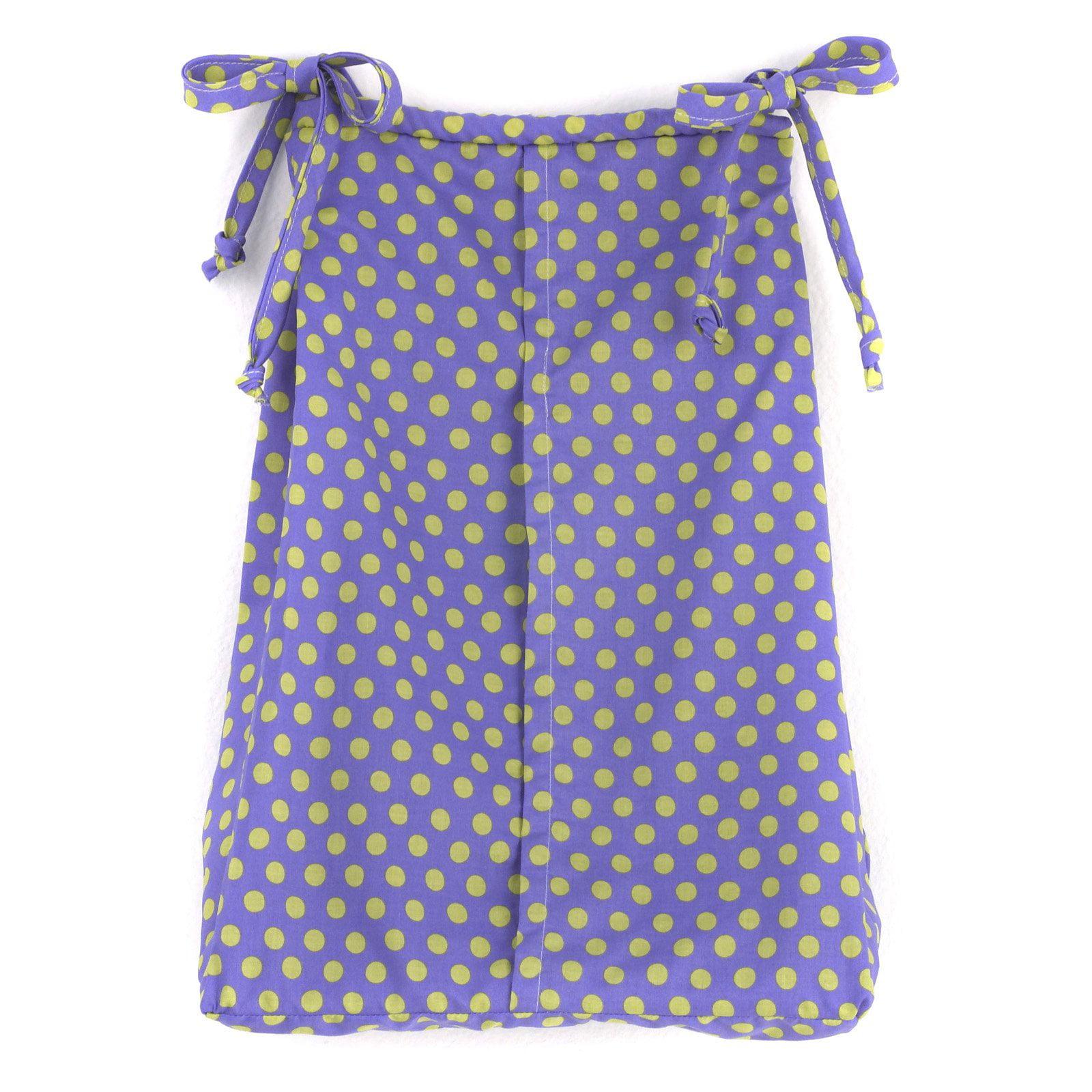 Cotton Tale Designs Periwinkle Diaper Stacker by Cotton Tale Designs