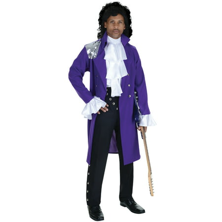Pop Star Men's Adult Halloween Costume, One Size, (42-46) (Funny Pop Culture Halloween Costume Ideas)