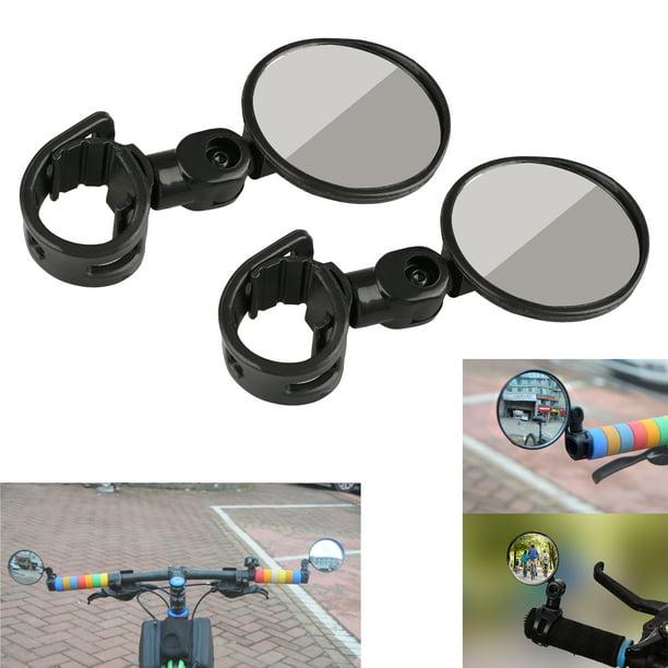 Rotating Mountain Bike Rearview Mirror Bicycle Handlebar Cycle Rear View Mirror