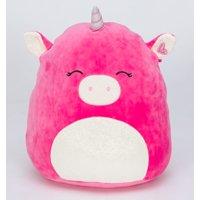 "Squishmallow 16"" Hot Pink Unicorn Super Soft Plush"