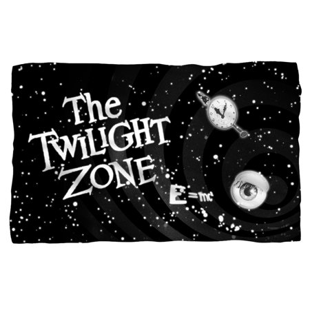 The Twilight Zone Another Dimension Poly 36X60 Blanket White One