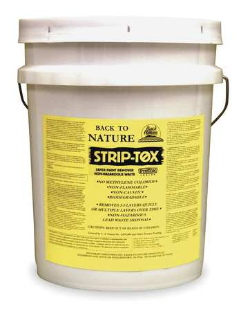 BACK-TO-NATURE ST05 Lead Based Paint Remover, 5 gal. by BACK-TO-NATURE