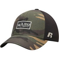 Men's Russell Athletic Camo LSU Tigers Agent Adjustable Snapback Hat - OSFA