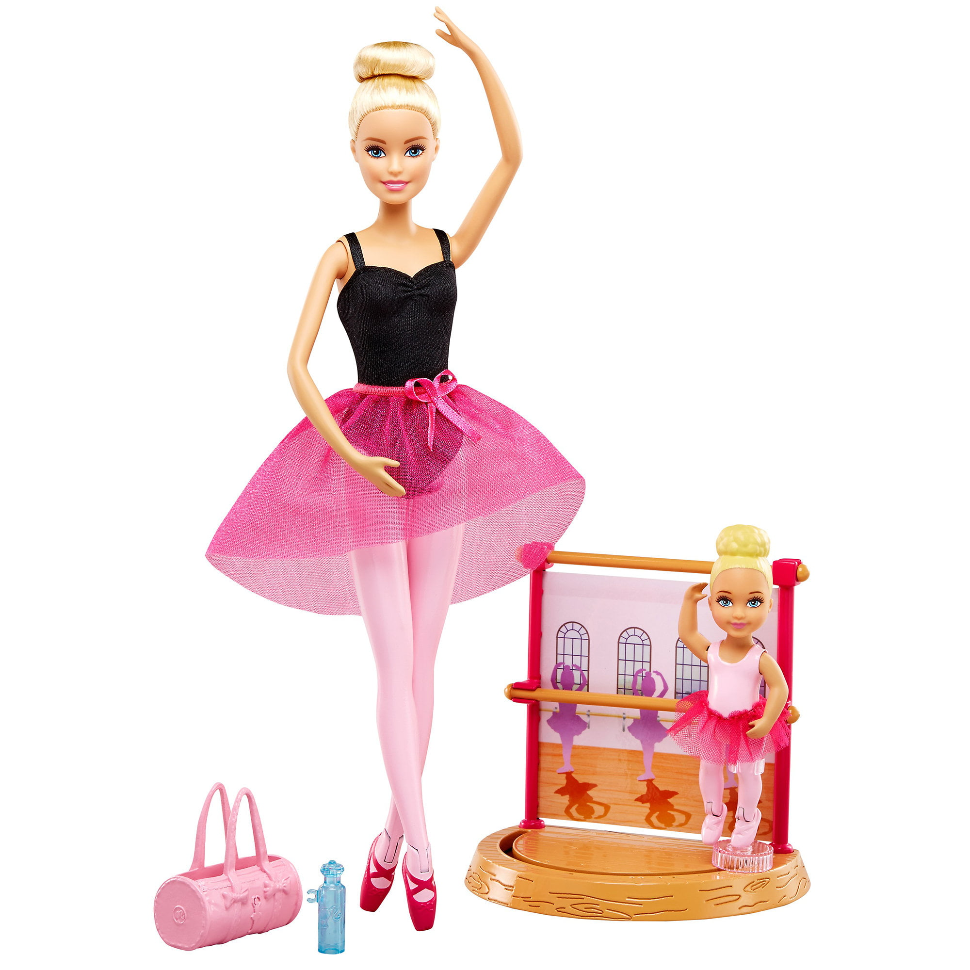 Barbie Doll Dance Coach Playset with 2 Dolls and Working Stage by Barbie