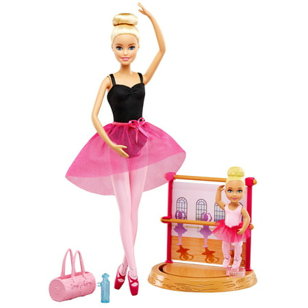 91f6e6691214 Barbie Doll Dance Coach Playset with 2 Dolls and Working Stage ...