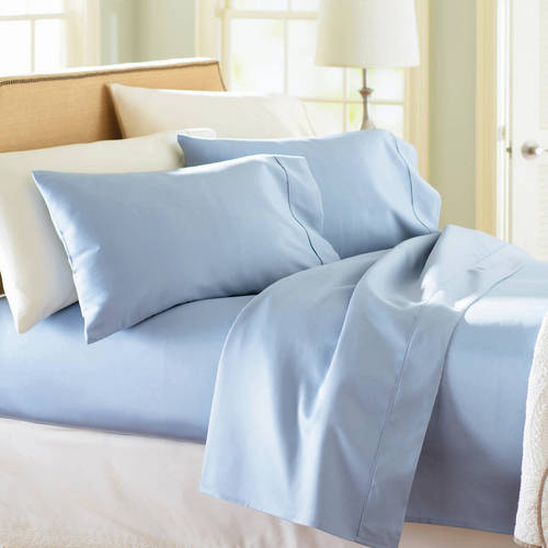 Better Homes and Gardens 300 Thread Count Full Sheet Set, Blue