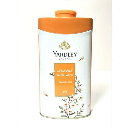Yardley London Perfumed Talc Sandalwood Talcum Body Powder 8.8 Oz (250 G)