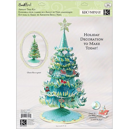 Swell Noel Paper Craft Kit Advent - Advent Crafts