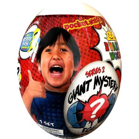 - Ryan's World Series 2 Giant Egg Mystery Surprise [WHITE]