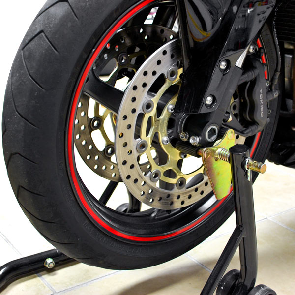 Motorcycle Front+Rear Spool Dual Lift Stand Combo For Yamaha FZS1000 FZ1 2004-2008 - image 5 of 8