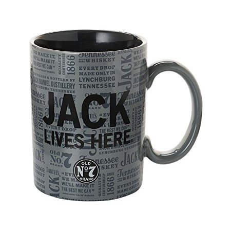 Department 56 Jack Daniels From Jack Lives here Mug 4.5 In, Department 56 has been creating seasonal memories for families since 2535 By